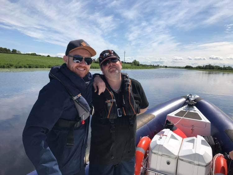 Skipper Tim and Barra Best