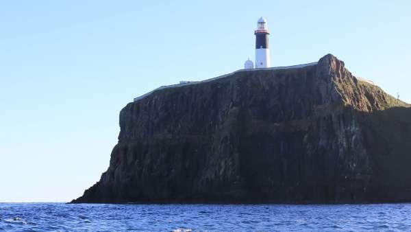 Altacarry Lighthouse Rathlin Island