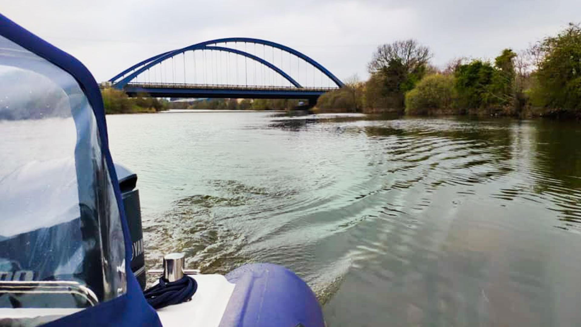 Blue Bridge at Toome