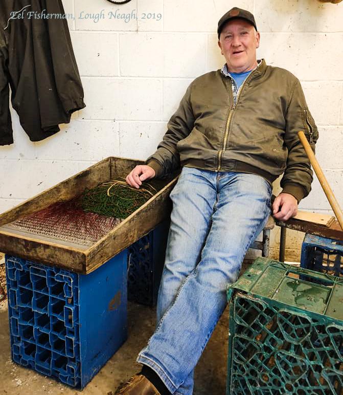 Eel Fisherman Lough Neagh