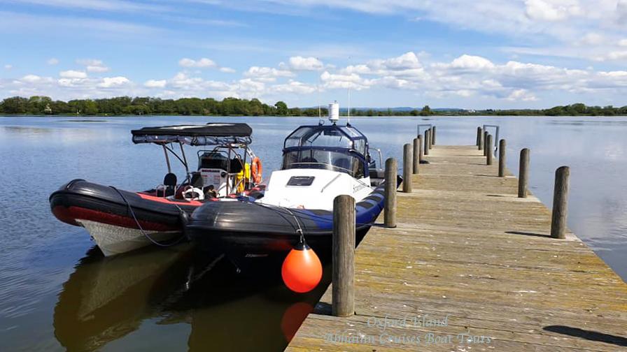The boats Lough Neagh