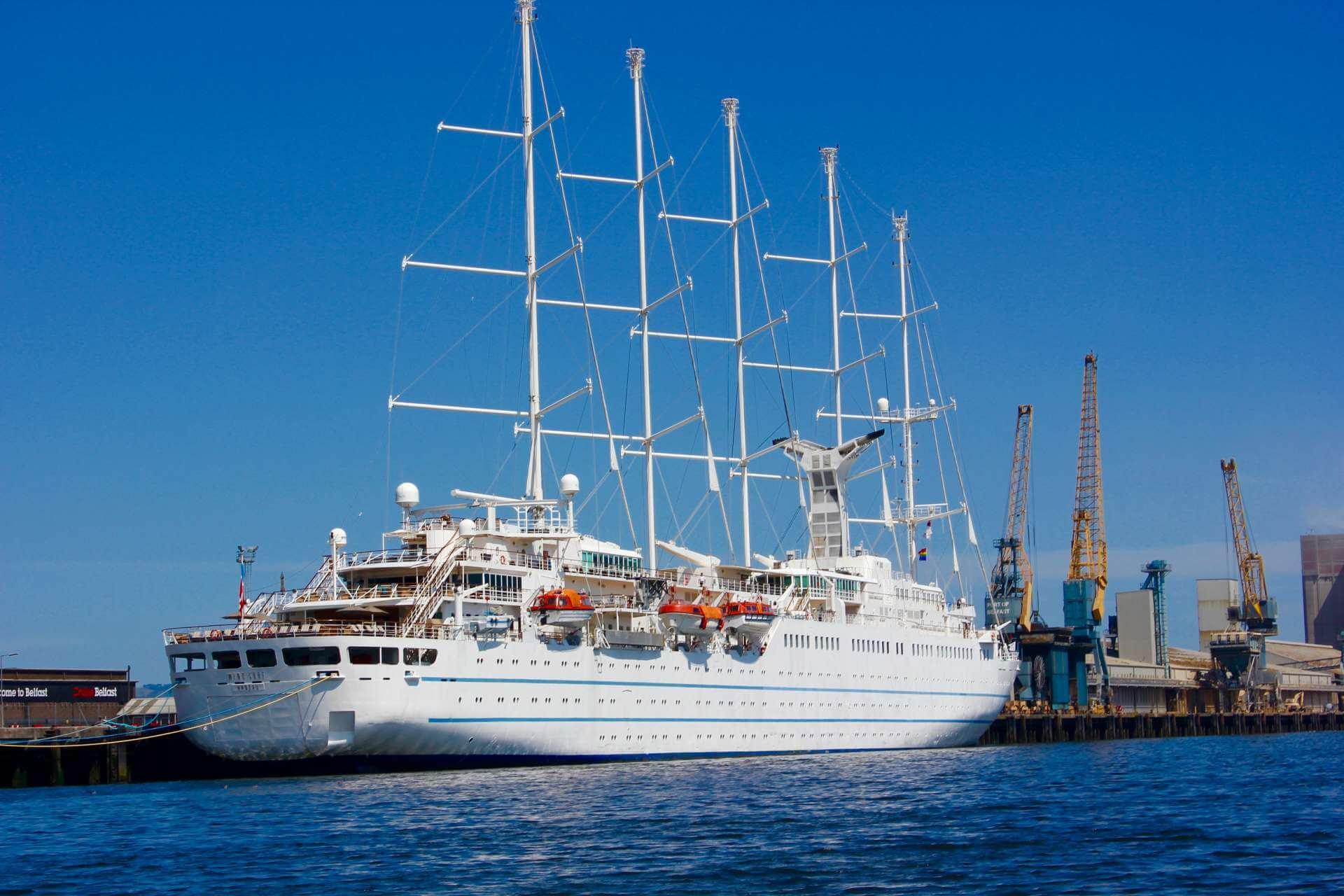 Cruise Ship Belfast
