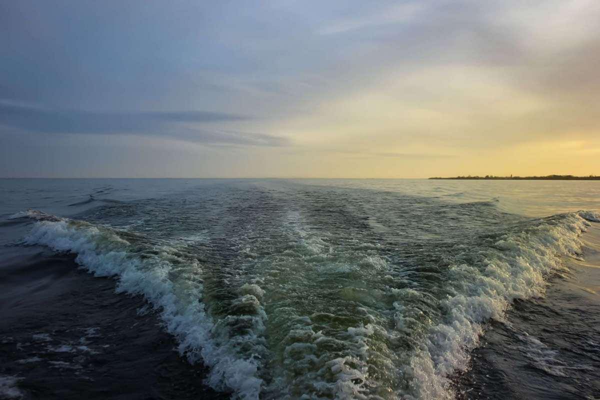 Stormborn on Lough Neagh