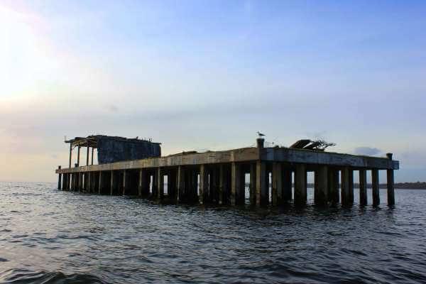 Torpedo Platform Antrim Lough Neagh