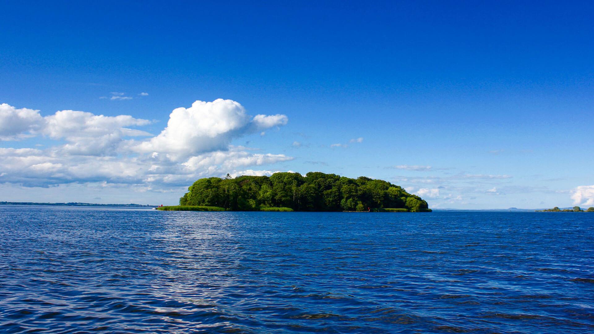 Coney Island on Lough Neagh