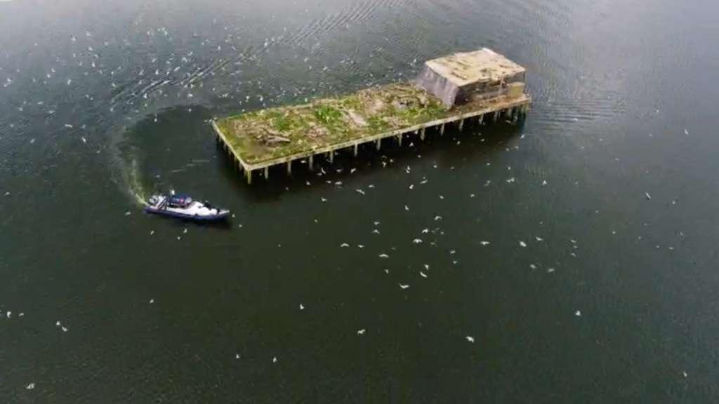 Torpedo Platform Lough Neagh Boat Trip